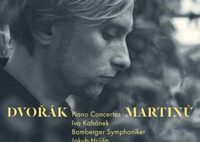 Dvořák & Martinů: Piano Concertos